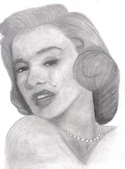 Marilyn Monroe by zuzia483